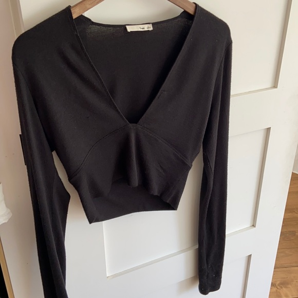 Wilfred Free Long Sleeve Cropped
